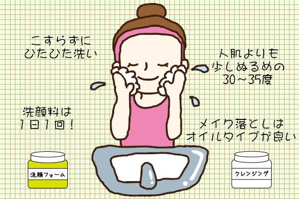 お肌の善玉菌を増やす洗顔法