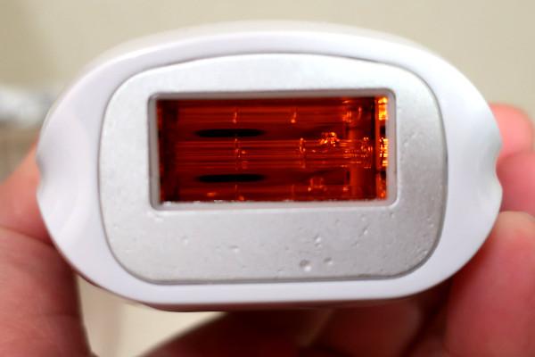 脱毛ラボ・ホームエディションの照射面は定期的に掃除する